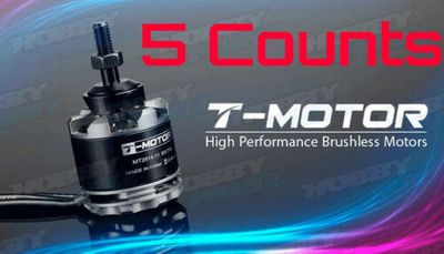 5 Pieces of High Performance Brushless T-Motor MT2814 710kv for Copter