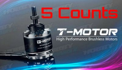 5 Pieces T-Motor High Performance Brushless Motor MT2814 770kv for RC Helicopter