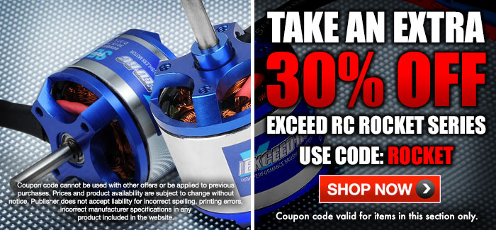 Exceed RC Brushless Motors
