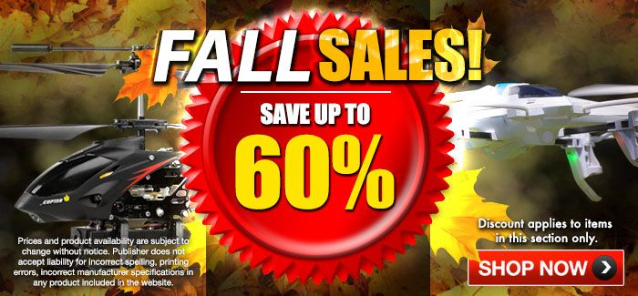 Special Sales!  Save Up to 60% OFF!