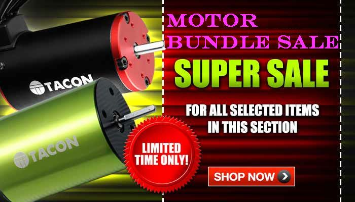 Motor, Blades, ESC Bundle Sale