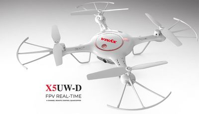Syma Drone X5UW-D Hover WiFi FPV Camera 2.4G 6-axis Gyro RC Drone Quadcopter Ready to Fly