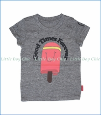 Prefresh, Good TImes Popsicle T-Shirt in Grey