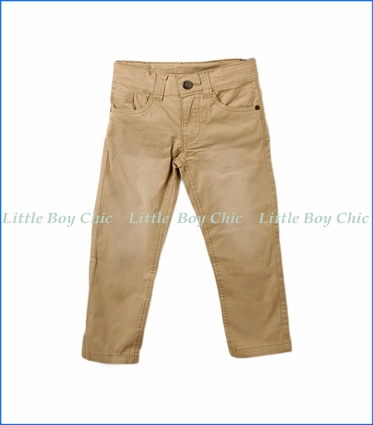 Tuc Tuc, Twill Trousers in Beige