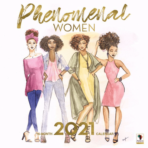 2021 Phenomenal Women Wall Calendar
