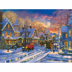 A Holiday Drive - 1000pc Jigsaw Puzzle by Sunsout