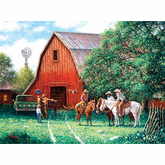 A New Day - 1000pc Jigsaw Puzzle by SunsOut