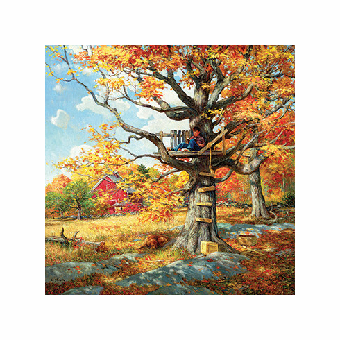 After School Hangout - 500pc Jigsaw Puzzle by SunsOut