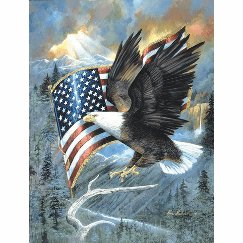 American Eagle - 500pc Jigsaw Puzzle By Sunsout