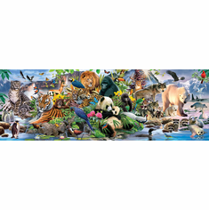 Around the World - 500pc Jigsaw Puzzle by SunsOut