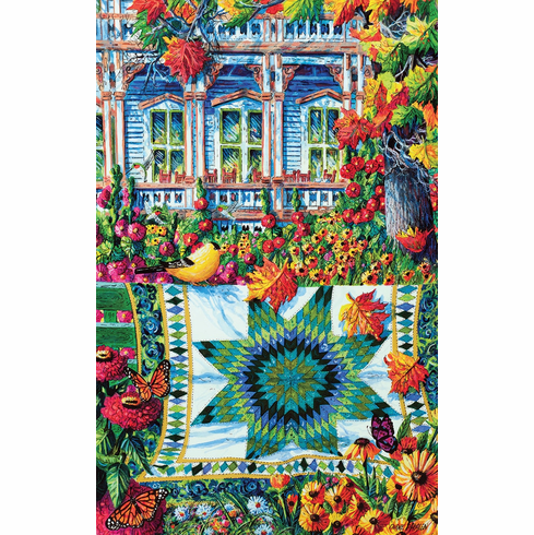 Athenaeum Autumn - 1000pc Jigsaw Puzzle by SunsOut