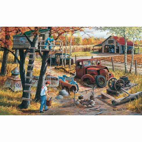 Base Camp - 300pc Jigsaw Puzzle by Sunsout