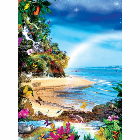 Beach Butterflies - 1000pc Jigsaw Puzzle by Sunsout