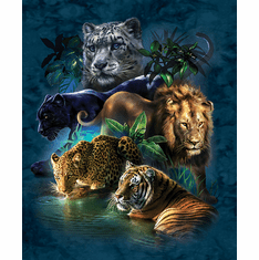 Big Cat Prowess - 1000pc Jigsaw Puzzle By Sunsout