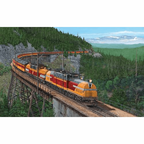 Bipolars over Snoqualmie Pass - 550pc Jigsaw Puzzle By Sunsout