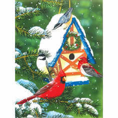 Birds at the Feeder - 1000pc Jigsaw Puzzle by Sunsout