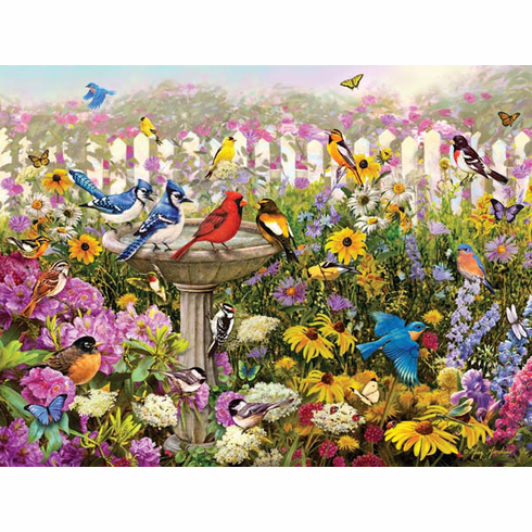 Birds of Summer Puzzle (550 pieces)