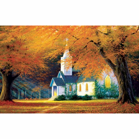 Church in the Glen - 550pc Jigsaw Puzzle by Sunsout