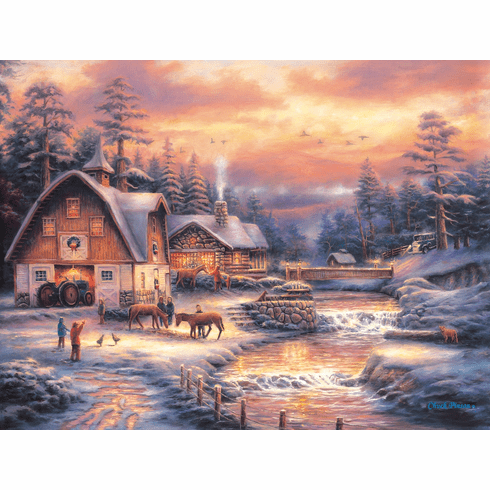 Country Holidays - 500pc Jigsaw Puzzle By Sunsout