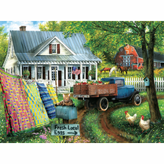 Countryside Living - 1000pc Jigsaw Puzzle By Sunsout