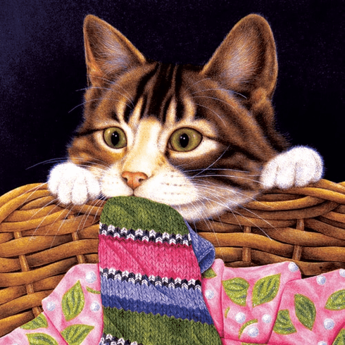 Crazy about Socks - 1000pc Jigsaw Puzzle By Sunsout