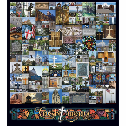Crossin America - 1000pc Jigsaw Puzzle By White Mountain