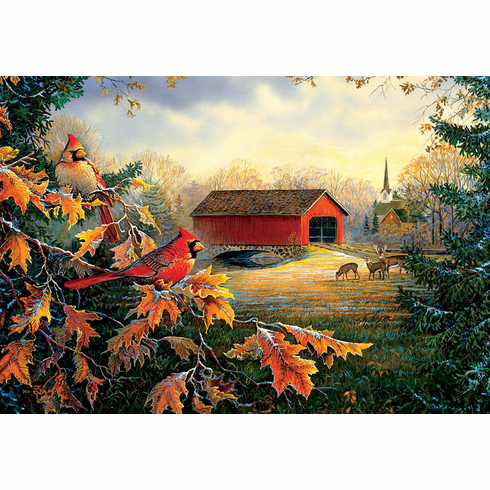 Crossing at Red River - 2000pc Jigsaw Puzzle by Sunsout