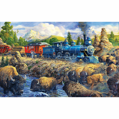 Delaying the Iron Horse - Scratch and Dent 500 Piece Puzzle