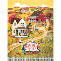 Down Home Quilting Bee 500 PIECE Puzzle