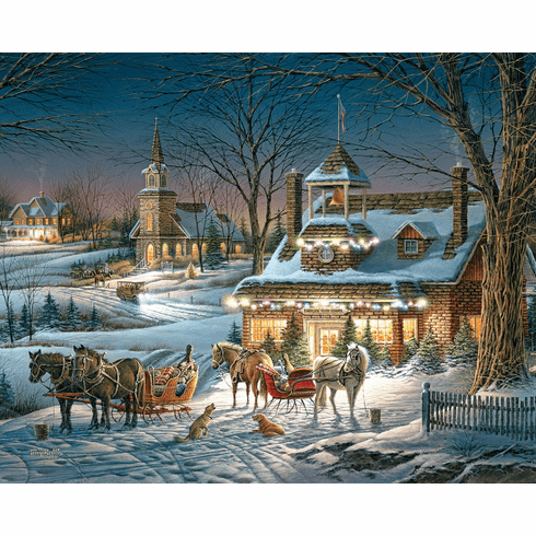 Evening Rehearsals - 1000pc Jigsaw Puzzle By White Mountain (discon)