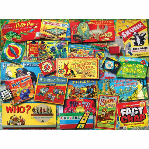 Family Game Night(1330PZ) - 550 Piece Jigsaw Puzzle