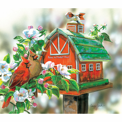 Farm to Market Road - 550pc Jigsaw Puzzle by Sunsout