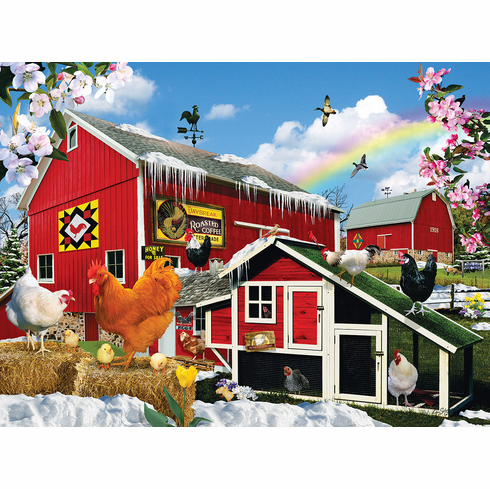 First Signs of Spring - 1000pc Jigsaw Puzzle by Sunsout