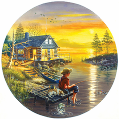Fishing for Dreams - 500pc Jigsaw Puzzle by SunsOut