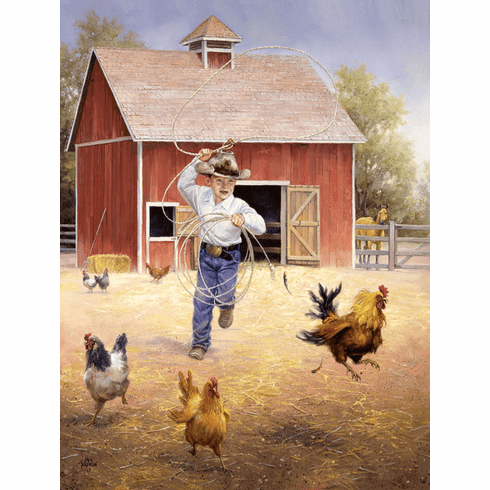 Fowl Play - 500pc Jigsaw Puzzle by Sunsout