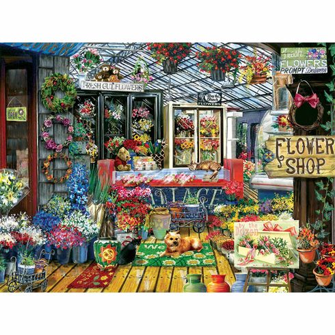 Fresh Flowers - 1000pc Jigsaw Puzzle By Sunsout