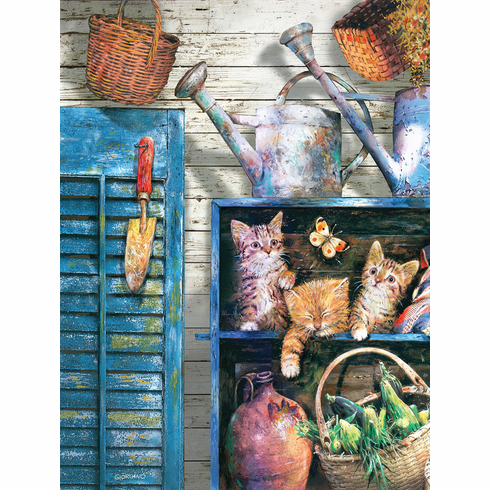 Garden Cupboard - 500pc Jigsaw Puzzle by SunsOut