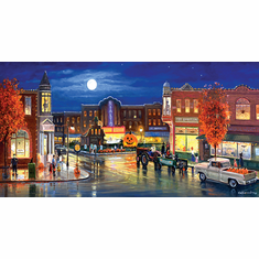 Halloween in the City - 500pc Jigsaw Puzzle by SunsOut