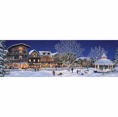 Hometown Holiday - 500pc Jigsaw Puzzle by SunsOut