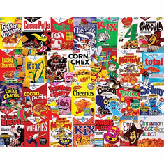 I Love Cereal - 300pc EZ Grip Jigsaw Puzzle By White Mountain