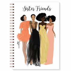 J184 Sister Friends Wired Journal
