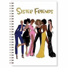 J211 Sister Friends 2 Wired Journal
