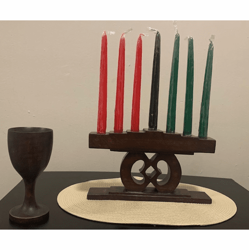 Keep Your Promise Brown Kwanzaa Set