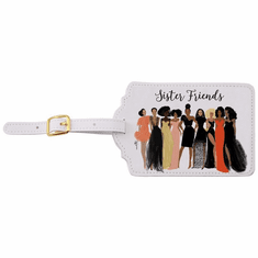 LT06 Sister Friends Luggage Tag Set