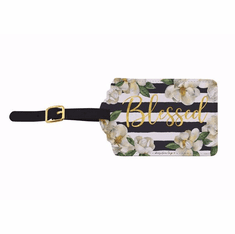 LT07 Blessed Magnolia Luggage Tag Set