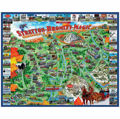 Manchester & the Mountains - 1000pc Jigsaw Puzzle by White Mountain