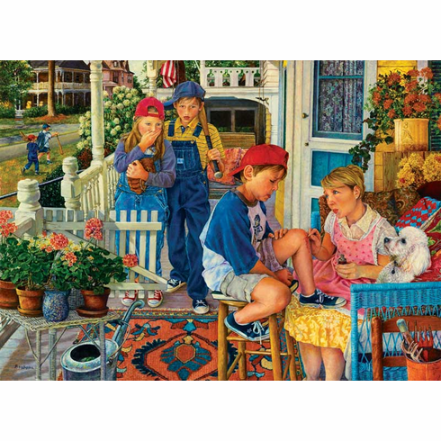 Mommie Makes it Better - 500+pc Jigsaw Puzzle By Sunsout