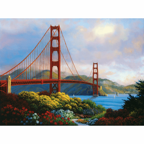 Morning at the Golden Gate - 1000pc Jigsaw Puzzle by Sunsout
