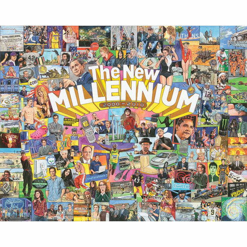 New Millennium - 1000pc Jigsaw Puzzle by White Mountain NEW
