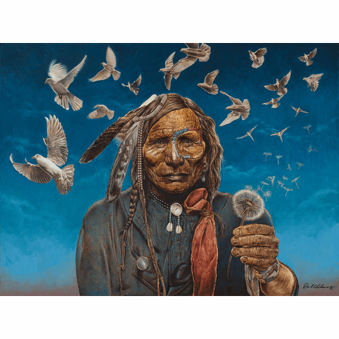 Peacemaker - 1000pc Jigsaw Puzzle By Sunsout